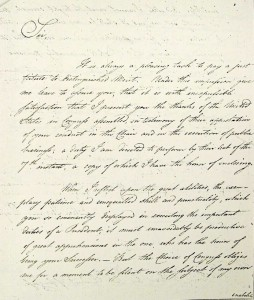 John Hanson Document 1