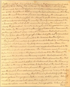 November 26th, 1785 Letter from Richard Henry Lee to James Madison