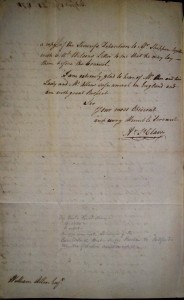 September 24th, 1771 Arthur St. Clair to William Allen - Courtesy of the Author