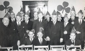 St. Patrick's Day at the Elks Home in Norwich