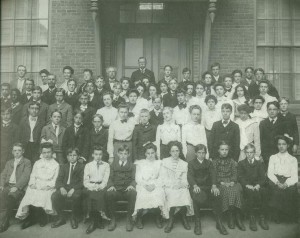 graduating class of Broadway school 1901